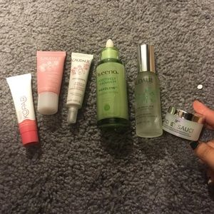 aveeno caudalie kiehls kopari it cosmetics bundle